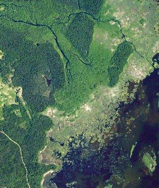 Slocenes delta un Kaņiera pilskalns