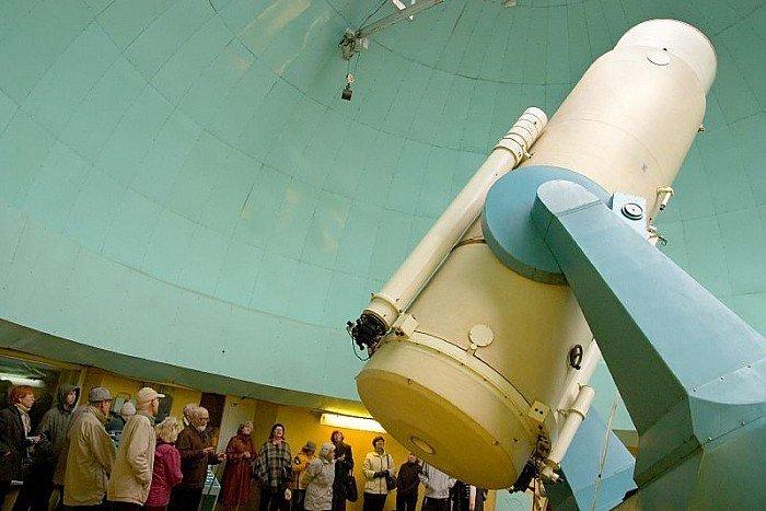 Teleskops Riekstu kalna Observatorijā, Baldonē