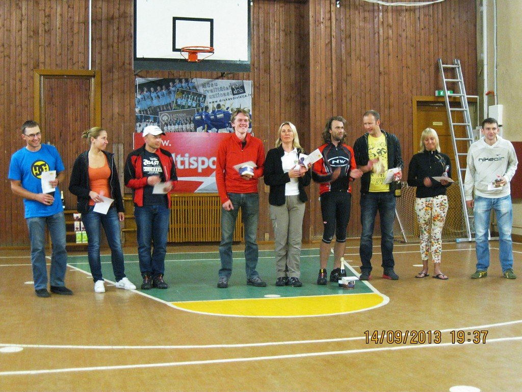 Ķirzakas Takas 2013 uzvarētāji
