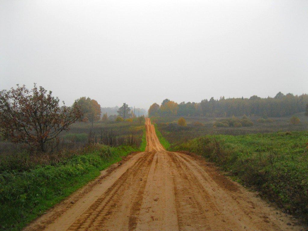 Ceļš netālu no Īles