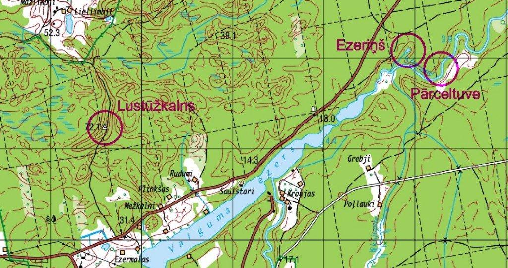 Interesantākās vietas Valguma ezera apkārtnē