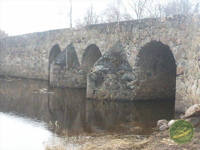 Vesetas tilts uz vecā Madonas Pļavinu ceļa