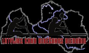 Latvijas Kanu airēšanas biedrība logo