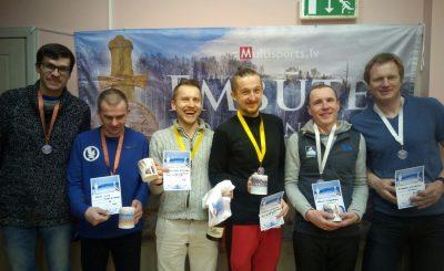 Embūtes rogainings 2018. MO8 grupas uzvarētāji.